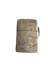Vintage  Silver Zippo Pocket Cigarette Lighter, Circa 1960