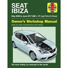 Seat Ibiza Haynes Manual 2008-2017 1.0 1.2 1.4 Petrol 1.6 Diesel Workshop Manual