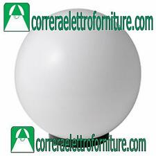 Lampione globo illuminazione giardino esterno SFERA 300 mm opale MARECO 1080301B