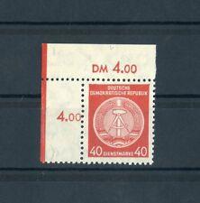 DDR-DIENST Nr.39Af1 ** ECKRAND l.o. PLATTENFEHLER EURO 50,-++ !!! (120811)