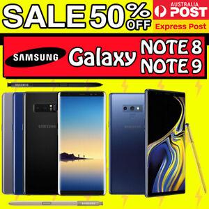 Samsung Galaxy Note 9 Note 8 N960 N950 128GB 64GB Unlocked 4G LTE AU WARRANTY