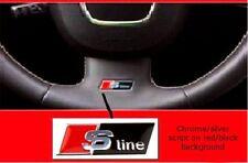 Audi Lenkradaufkleber Aufkleber S-line Sline S line A1 A3 Sportback S3 Q5 *NEU*