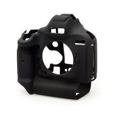 EasyCover Silicona piel suave caso cubierta Protector De Canon 1DX y 1DX Mk 2 en Negro