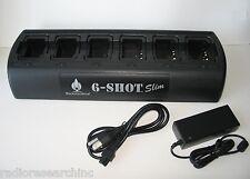 Gang 6 Way 6-Slot Charger for Motorola CP125 GP2000 PRO2150 VL130 Bearcom BC120
