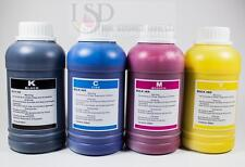 4x250ml Pigment refill ink for Epson 252 WorkForce WF-3620 WF-3640 WF-7110
