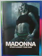 MADONNA sticky & sweet tour 2009 tour programme 64 pages ex tour merch BARGAIN