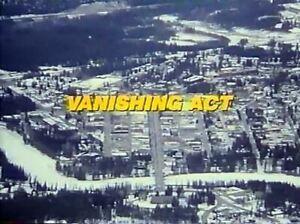 Vanishing Act - 1986 Stars: Mike Farrell, Margot Kidder (UK/Euro disc only)