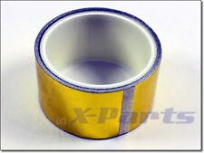 X-Parts Oro Protección contra el Calor Cinta 50mm 4,5m Reflective Hitzeabweisend