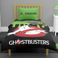 Ghostbusters Glow in Dark Single Duvet Cover & Pillowcase Set Reversible Bedding