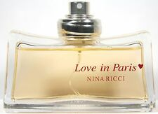 Love In Paris By Nina Ricci 1.6/1.7oz. Edp Spray Tester For Women New & Unbox