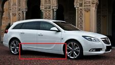 OPEL VAUXHALL INSIGNIA SIDE SKIRTS OPC / VXR LOOK NEW 2 PIECES