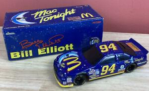 Action 1/24 Diecast Bill Elliot Mac Tonight '97 Thunderbird NASCAR Stock Car
