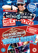 DVD:TRAVIS PASTRANAS NITRO CIRCUS PRESENTS - VEGAS BABY! /  - NEW Region 2 UK