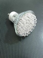 Faretto lampada led gu10 led green light bulb luce verde 1.5w 220v 38 led