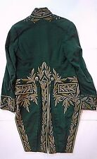 WAR OF 1812 ORIGINAL PERIOD GENTLEMAN GREEN TAILCOAT NOT SWORD CIRCA 1805-14