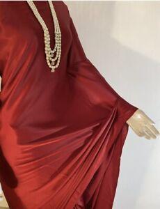Indian plain beautiful satin saree with falls done without blouse