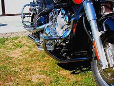 YAMAHA XVZ 1300 XVZ1300 ROYALSTAR STAINLESS STEEL CUSTOM CRASH BAR WITH PEGS