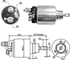 12V Starter Motor Solenoid Fiat Ducato fits IVECO Daily -02