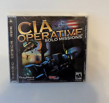 CIA Operative: Solo Missions (2001) A New World Order ~PC Game~