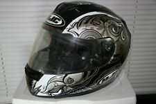 HJC FS-15 SN SURGE Helmet - MC2 - Black/Gray/White Size Medium M Pre-owned EUC