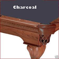 8' Charcoal ProLine Classic Billiard Pool Table Cloth Felt - SHIPS FAST!