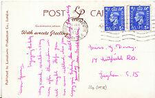 Genealogy Postcard - Ancestor History - Davey - Leyton - London S.15   U2479