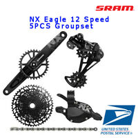 SRAM NX Eagle 12 Speed 5pcs Groupset Dub Crank 170/175mm 30T/32T/34T
