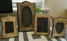 Lot of 4 Vintage Sterling Silver Photo Picture Frames
