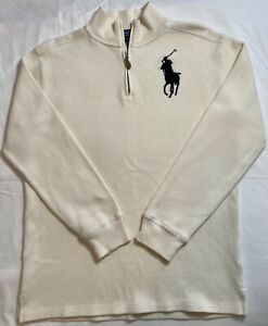 Polo Ralph Lauren Boys Sweater XL (18-20) Quarter Zip