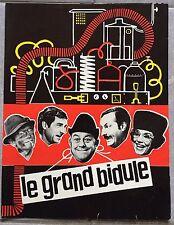 Dossier de Presse LE GRAND BIDULE Raoul André FRANCIS BLANCHE Jean Poiret