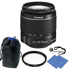 Canon EF-S 18-55mm f/3.5-5.6 IS II Lens Accessory Kit for Canon EOS Rebel T5,T6