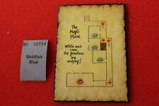 Games Workshop Advanced Heroquest Hero Quest Map Tile The Magic Maze New Card GW