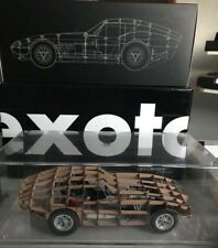 Exoto Racing Legends 1:18th Scale Cobra Daytona Rolling Wood Trellis