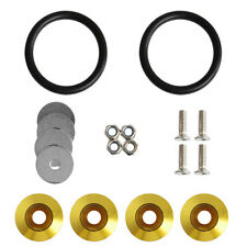 New Quick Release Fasteners Kit For Car Bumpers Trunk Fender Hatch Lids