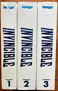 INVINCIBLE COMPENDIUM 1 2 3 sealed Hardcover set - HC hardcovers Omnibus Image