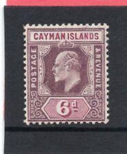Cayman Islands EV11,1907-09 6d sg 30 LH.Mint