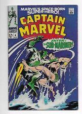 Captain Marvel #4 1968 6.5 FN+ Sub-Mariner