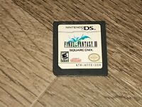 Final Fantasy III 3 Nintendo DS 3DS Tested Authentic