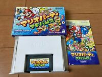 Gameboy Advance Mario Party Advance with Box and Manual Nintendo gba