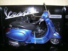 NewRay Vespa Primavera Roller Scooter blau blue, 1:12 Motorbike Moto