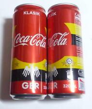 COCA COLA Coke Can MALAYSIA 330ml FIFA World Cup RUSSIA Collect 2018 GERMANY