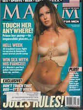 MAXIM Magazine #47 NOVEMBER 2001-A - JULES ASNER  REBECCA GRANT  CHARLOTTE DODDS