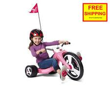 Radio Flyer Big Wheel Girls Trike Kids Front Wheel Chopper Pedal