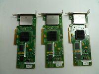 LOT OF 3 LSI SUN SAS3801EL-S 375-3487-04 PCI-E CARD LOW PROFILE