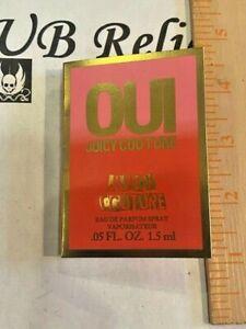 New Juicy Couture OUI eau de parfum - 0.05oz (1.5ml) Spray SAMPLE VIAL