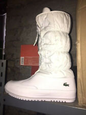 Womens Lacoste TUILERIE PS SPW White Weiß Lt Grey Stiefel Ski Winter Boot Gr:41
