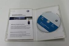 Genuine VW RNS 510 V3 SKODA 5ns Trinax Western Europe Navigation DVD Disc