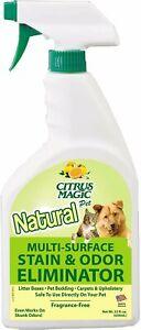 Pet Odor Eliminator by Citrus Magic, 22 oz
