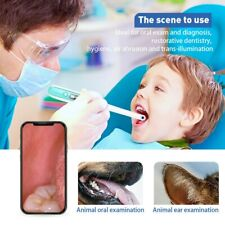 Oral Dental Wifi Endoscope 1080p Fhd Visual Intraoral Camera Adjust 8 Led Lights