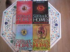 Set 4 Andrew Lane Young Sherlock Holmes Books P/B  Age 11+